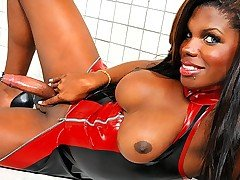 Clips of tits, black, gorgeous, tgirl, latex categories