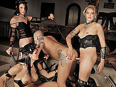 Clips of threesome, shemale, guy, bdsm, mistress categories
