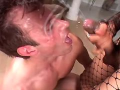 Clips of cumshot, cum, guy, fuck, shemale categories