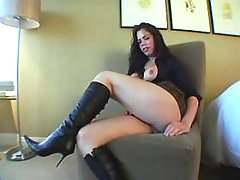 Clips of cock, shemale, brunette, cute, play categories