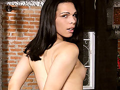 Next scene features gorgeous Brazilian shemale Thays Dumont in a sizzling shemale ass banging session. Check her out, lovely shemale Thays Dumont knows well how to seduce a straight guy with her sexy feminine body, awesome blowjobs and tight yet willing ass.