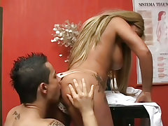 Clips of , , blonde, uniform,  categories