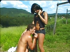 Clips of , outdoor, guy-sucks-shemale, brunette,  categories