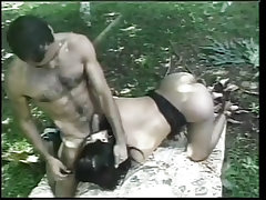 She male garden hoe gets the ass fucking of a lifetime